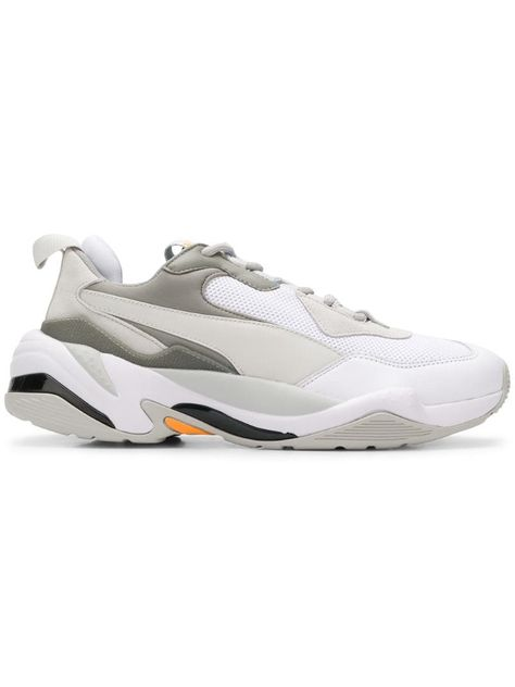 Puma Thunder Spectra sneakers White | Sneakers, Nike shoes