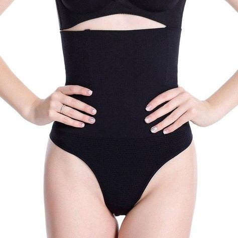 77aabb61bd Hot Women Shapewear High Waist Tummy Control Panties Body Shaper Seamless  Underwear Thong Panty Slimming Girdle Bodysuit Corset