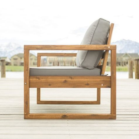 Large DIY Lounge Chair Concept