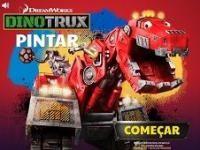Dinozor Makineler Boyama Dinozor Makineler Boyama Oyun Dinozor