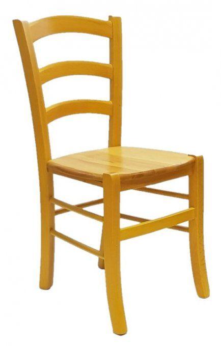 Sedie Bar Legno.Sedie Bar Ristorante Rustiche Colorate In Faggio Massello