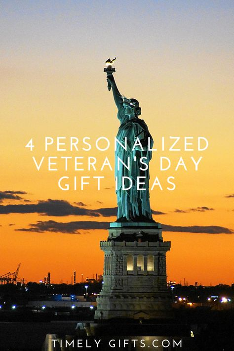 Looking for personalized veterans day gift ideas? See these many touching ideas for veterans day that are perfect for both friends or family. All these gift ideas are the perfect way to celebrate Veteran's Day. #veteransday #giftideas #gifts #giftideas #diygiftideas