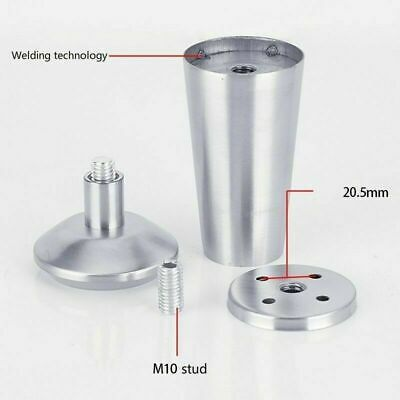 Stainless Steel Furniture Feet Adjustable Cabinet Sofa Chairs Legs Replacement Ebay In 2020 Steel Furniture Stainless Steel Furniture Furniture Feet
