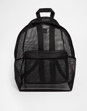Image 1 ofASOS Mesh Backpack