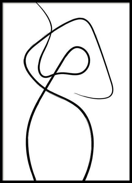 Line Impression No1 Poster Modern Art Prints Online Wall Art Buy Art Print