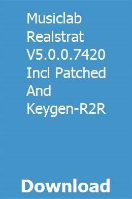 MusicLab RealRick v1 0 0 x86 скачать