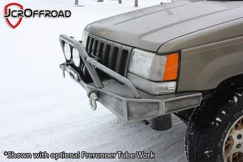 Diy Zj Winch Bumper Jeep Grand Cherokee 92 98 Jeep Grand