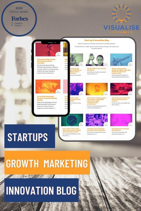 Startups & Innovation Blog - Entrepreneurship & Growth Marketing