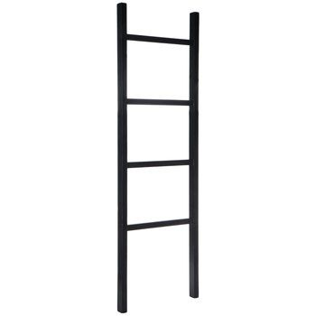 Black Wood Ladder Wood Ladder Hobby Lobby Furniture Shabby Chic Diy