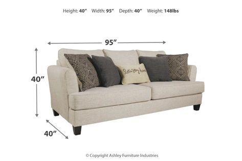 Incredible Zarina Sofa Ashley Homestore Ncnpc Chair Design For Home Ncnpcorg
