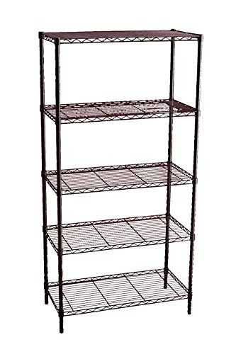 Storage Solutions Shelf Inches Black Closet Organizing Systems Shelves Metal Shelving Units