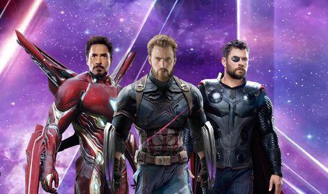 HD wallpaper: Thor, Avengers: Infinity War, Iron Man, Captain America