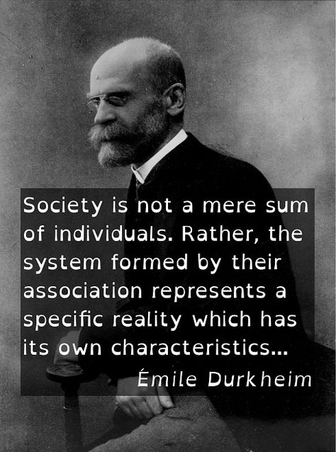 emile durkheim the father of sociology essay Emile durkheim and the science of sociology essay 1294 words | 6 pages introduction emile durkheim was born in france in april of 1858 and died in november of 1917.