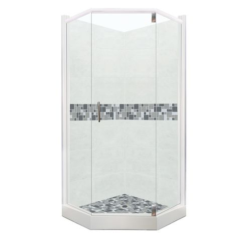 Mosaic Collection Neo Shower Kit In Natural Buff