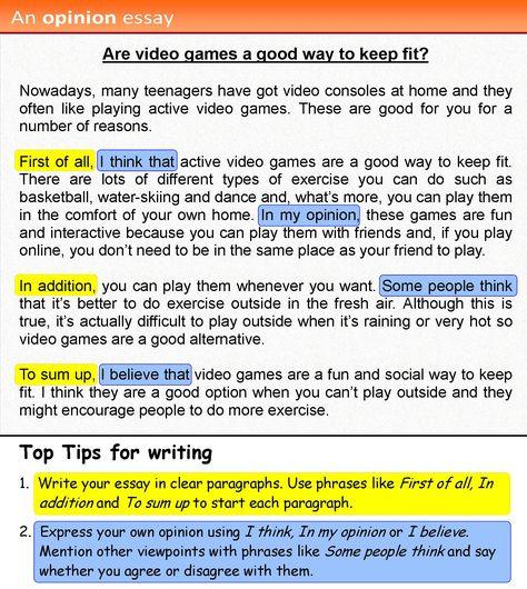 games essay writing essay my