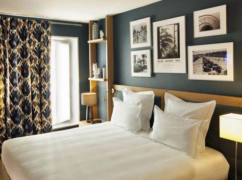 Une tête de lit distinguée Hôtel Villa Saint-Germain-des-Prés - Paris