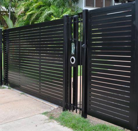 Designzaun Magnus - super-zaunde Gartengestaltung Pinterest - gartenzaun metall anthrazit