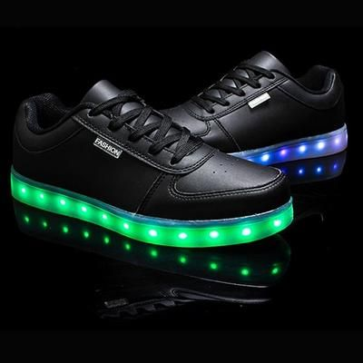 Merkmak Hot Sale Golden Silver Big Size 46 Led Shoes Men Glowing Cool Light Flat Shoes High Top Light Up Boots For Adults Led Shoes Mens Fashion Shoes Mens Dress Boots