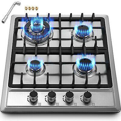 Details About 22 8 4 Burners Lng Lpg Gas Cooktops Cooker 110v