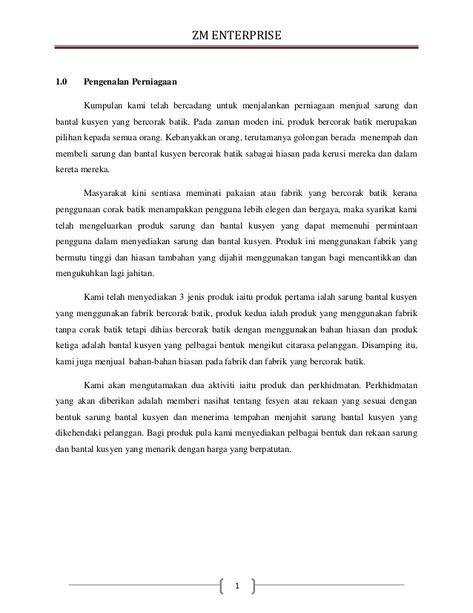 ZM ENTERPRISE 10 Pengenalan Perniagaan Kumpulan kami telah - business apology letter for mistake