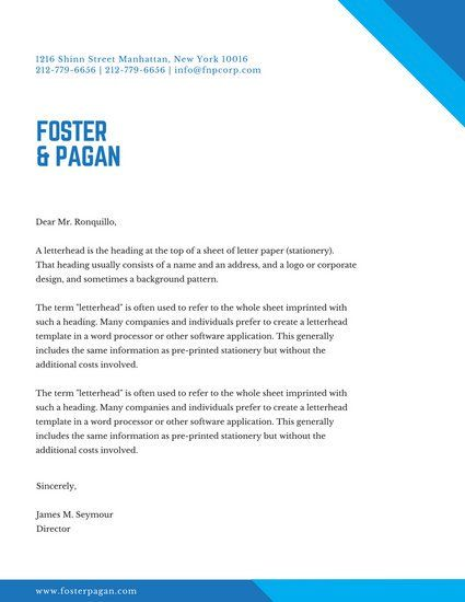 Cover Letter Template Canva Letterhead Template Word Letterhead