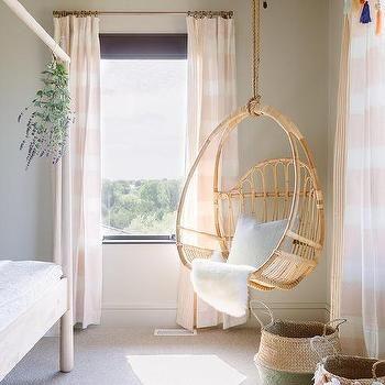 Bedroom With Corner Hanging Chair Room Swing Bedroom Swing Room Ideas Bedroom