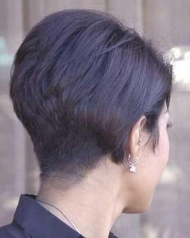 Kurze Bob Frisuren 2015 Hinterkopf Haarschnitte Beliebt In Europa