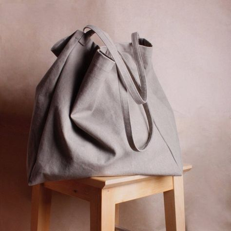 Extra large canvas bag , Shopping Bag , Cotton Tote Bag, Bag for grocery , ECO bag , girlfriend bag