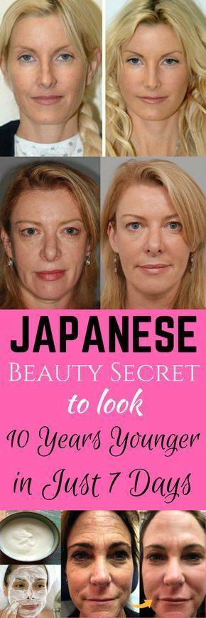 Japanese Beauty Secret to Look 10 Years Younger in Just 7 Days