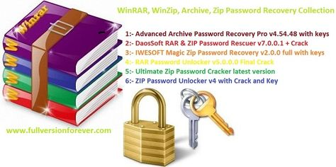 winrar zip password unlocker download