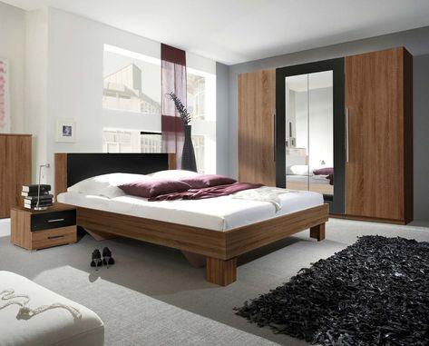 Schlafzimmer Komplett 4 Teilig Kernnussrot Schwarz Neu Dekorationsideen Dekoration Inneneinrichtung Einrichten Wohn Furniture Home Decor Bedroom Bed