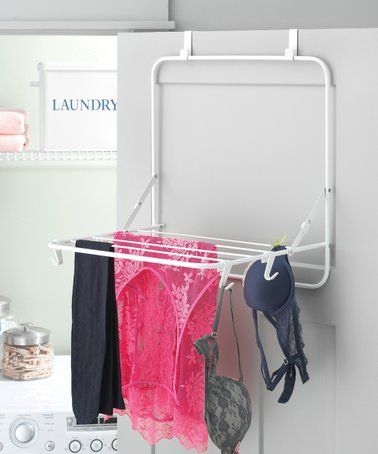 Look What I Found On Zulily White Over Door Drying Rack