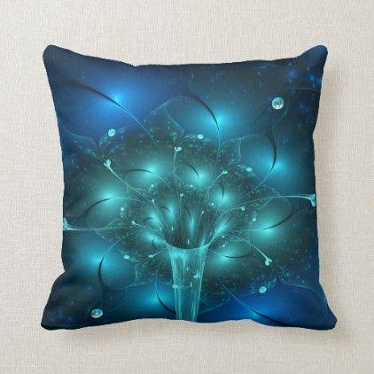 The Vase With Flowers 3d Fractal Impression Throw Pillow Zazzle Com Throw Pillows Pillows Custom Pillows