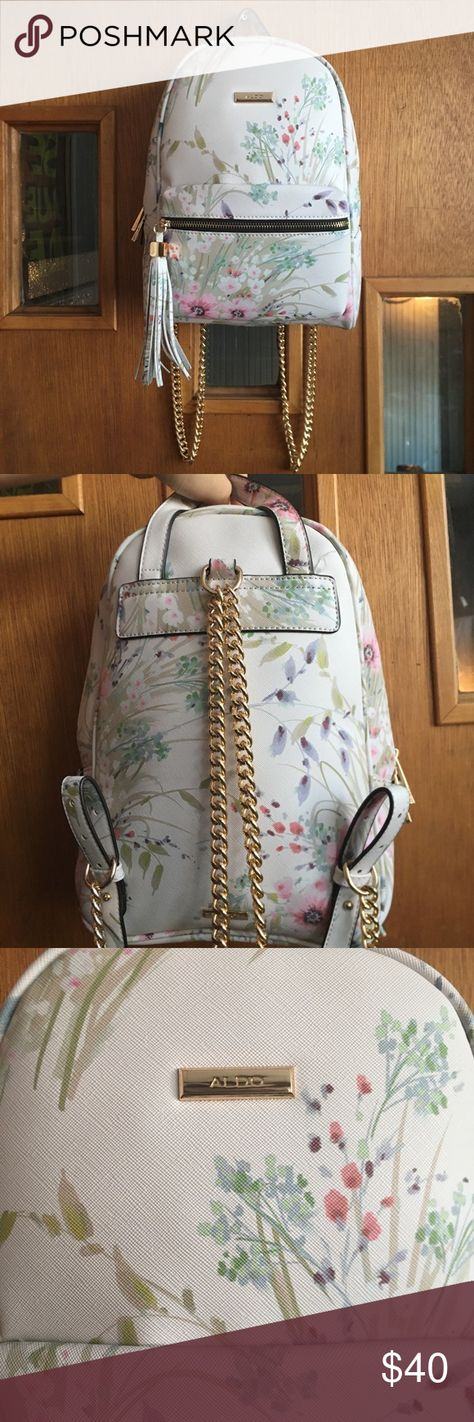 eb02a072297 Floral Aldo Acenaria Mini Backpack  Prefect Condition   Never Worn  •Floral  Aldo