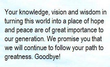 Farewell Message For A Teacher And Mentor Farewell Message