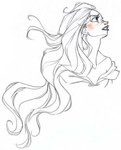 Some Rapunzel Drawings.