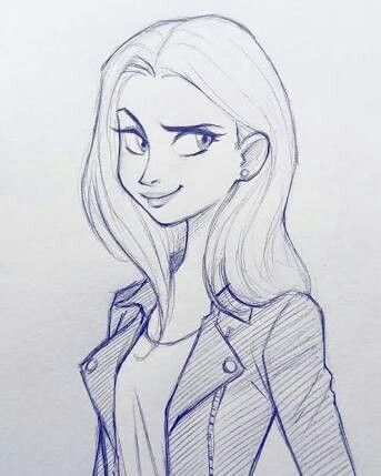 11 Breathtaking Draw People Cartoon Realistic Ideas Cartoon Drawings Cartoon Girl Drawing Cartoon Drawings Sketches