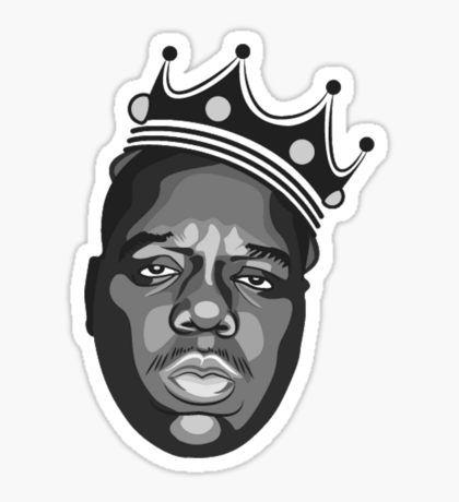 Rapper Stickers Biggie Smalls Art Notorious Big Art Notorious Big Tattoo