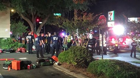 """""""At least 20 people have been killed and more than 42 injured in a shooting at a gay nightclub in Orlando, Florida police say."""" What a juxtaposition between the gay pride parades and this news of yet another mass murder. When will this escalation of madness end. It's like all of humanity has an impulse control disorder."""
