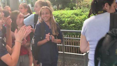#TOCATour #TOCAmundial 🇫🇷 France 2019 Visitando a la 10! #SeleccionArgentina #VamosArgentina #VamosLasPibas   🔵🔴 #WeAreToca #TOCA #tocajuniors #PLAYsimple #soccer #Futbol #Football #youthsoccer #Potomac #womens #WorldCup #womensworldcup #France2019 #DareToShine @EstefiBanini_10 #EstefaniaBanini #Banini