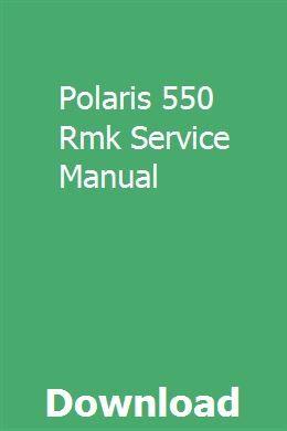 Polaris 550 Rmk Service Manual Renault Master Pontiac Sunfire Atv