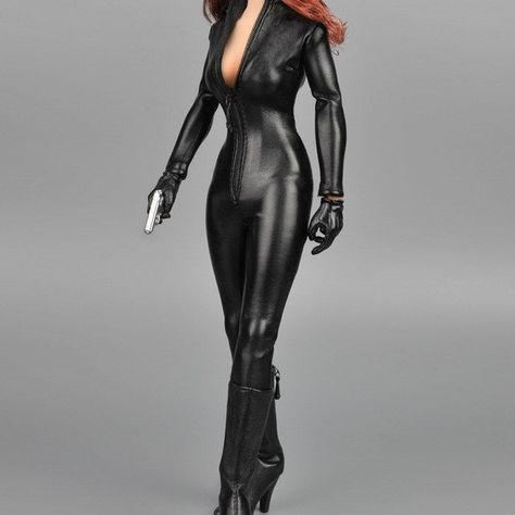 1//6 Female Elastic Pants Black Tights Leggings Trousers Clothes F 12/'/' figure
