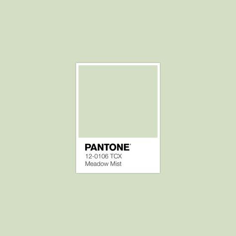 #MeadowMist #pantone #luxurydotcom