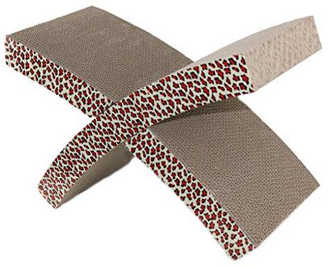vivaglory X-Form-Kratzbaum Kitty Kratzbaum Karton Kratz Bed Kemo - k chenschrank mit sp le