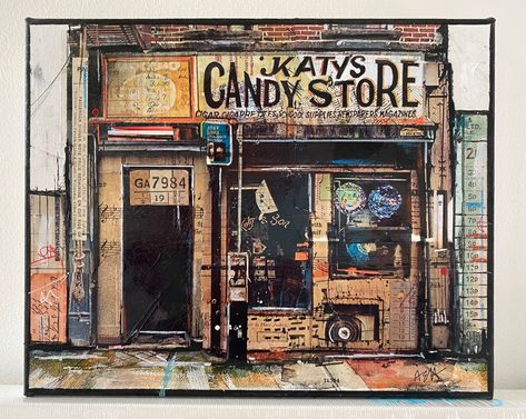Our Christmas show is now LIVE & we are reopening tomorrow!! The gallery is now open Monday - Sunday 12-5pm. The print gallery is open in Stillorgan shopping centre Monday - Sunday 12-5pm. We also have a display of prints in Nutgrove shopping centre and you can buy through our QR barcode system. TITLE:Katy's Candy Store ARTIST:Anna Allworthy SIZE:H 20cm x W 25cm MEDIUM:Mixed Media PRICE:€495 #christmasgifts #christmasgiftsideas #christmasgiftsph #christmasgiftsforher #christmasgiftsets