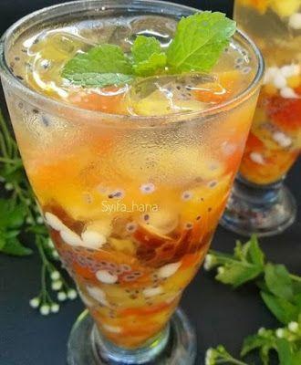 Es Buah Kurma Buah Resep Minuman Minuman Sehat