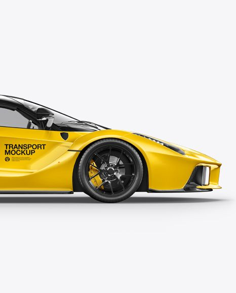 Download Super Car Mockup Side View In Vehicle Mockups On Yellow Images Object Mockups In 2020 Mockup Free Psd Free Psd Mockups Templates Psd Mockup Template PSD Mockup Templates