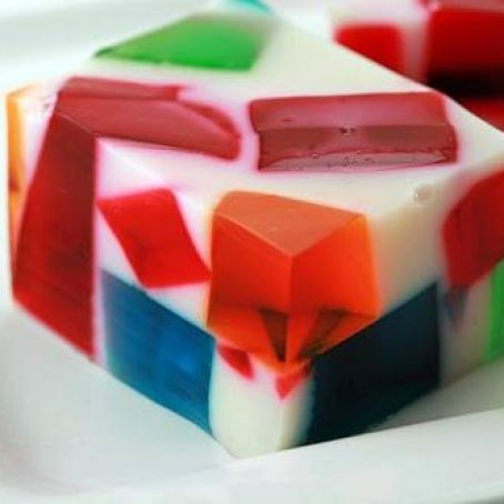 Broken Glass Jello Recipe Recipe In 2020 Broken Glass Jello Jello Recipes Stain Glass Jello