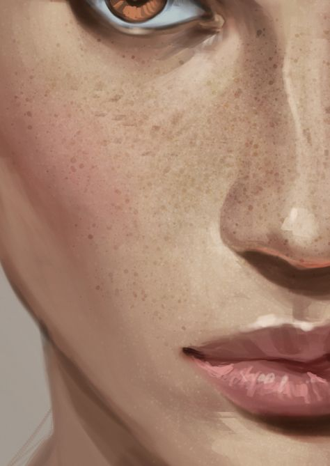 Best brushes for painting skin...