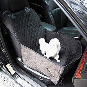 Pet Front Seat Cover For Cars Black Gemek Front Seat Cover For Dogs Waterproof Nonslip Backing Universal Pet Car Seat Cover For Cars Trucks Suvs Dog